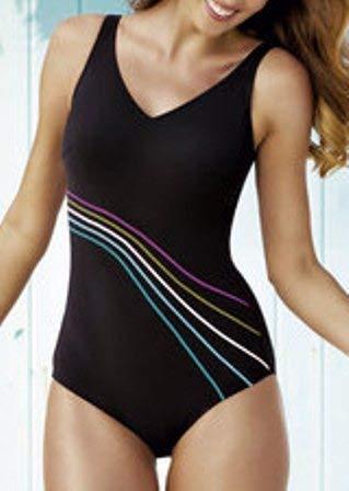 Bilbao 6303 One-Piece Mastectomy Swim Suit by Anita - Black (34D)