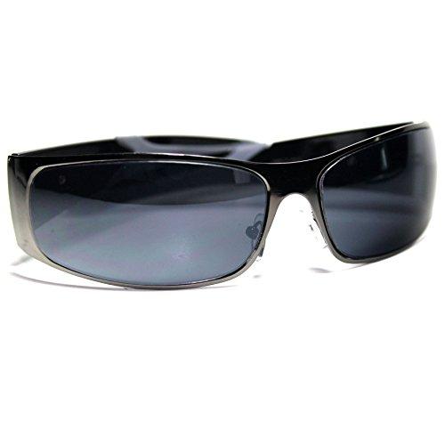 #KH5-S4 KHAN  Eyewear Wrap Around Men's Sport Sunglasses