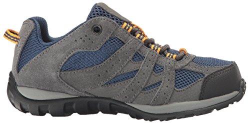 Columbia Youth Redmond, Zapatillas de Deporte Exterior Para Niños Azul (Carbon/ Super Solarize)