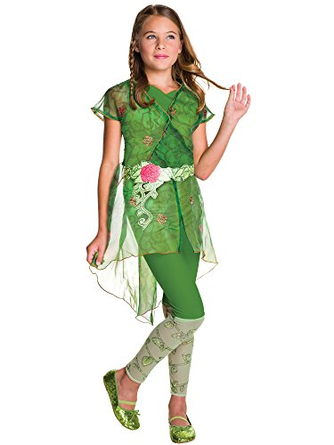 Rubie's Costume Kids DC Superhero Girls Deluxe Poison Ivy Costume, Medium ()