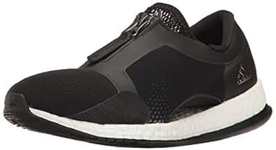 adidas Originals Women's Shoes   Pure Boost X TR Zip Cross-Trainer, Black/White/Black, (10 M US)