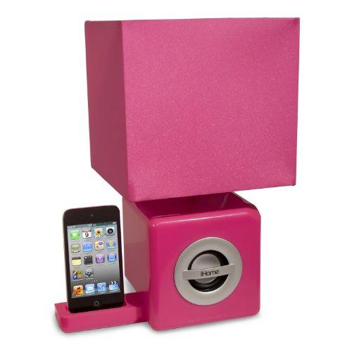 iHome Speaker Ambient Lamp Pink