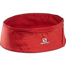 Salomon Pulse Belt Cinturón de Running, Unisex Adult, Rojo, S