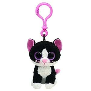 Amazon.com: TY Beanie Boos – pepper-clip el gato: Office ...