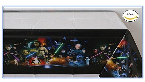 Star Wars Set of 2 Plastic Tablecloth - 42