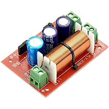 Amazon.com: 2-WAY Replacement Speaker Crossover 800 Watts: Musical on 2-way 3 speakers wiring, 2-way electronic crossover, 2-way speaker crossover circuit,