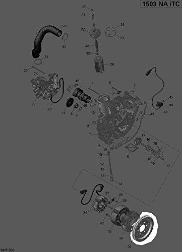 Sea-Doo 2012-2018 Gtx 155 Gtr Starter Gear 86 Teeth 420835163 New Oem