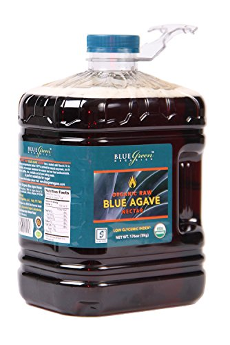 Blue Green Agave Organic Nectar, Raw Blue, 176 ()
