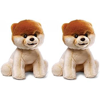 Gund Boo Plush Stuffed Dog Toy, Twin Pack