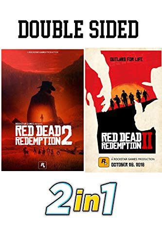 2 Double Sided Poster - Red Dead Redemption 2 Double Sided Poster from Collector's Edition 11.7