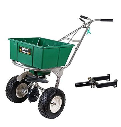 amazon com lesco 101186 high wheel walk behind fertilizer spreader rh amazon com