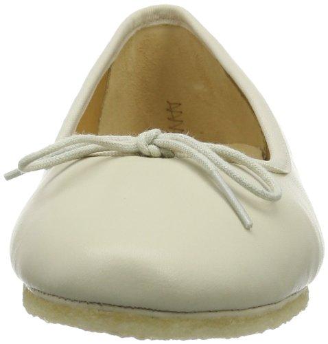 Clarks Lia Grace - Bailarinas Mujer Blanco (Cream Leather)