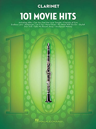 101 Movie Hits for Clarinet (Sheet Music Clarinet)