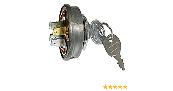 DB Electrical SSW2829 New Key Switch For Vangaurd Briggs Exmark Truf Tracer Troy Bilt 13025 13026 13027 13028 102972X 145499 158913 490066 493625 1-543070 532102972 532145499 532158913 305720 1754250P