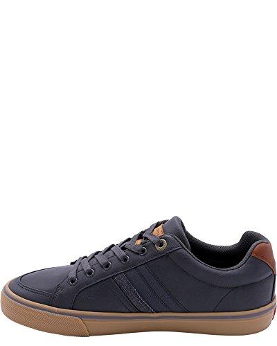 Levis Heren Turner Nappa Gum Sneaker Grijs