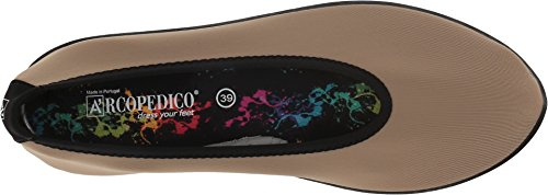Arcopedico Womens Lolita Textile Shoes Taupe ST8KNG0qC