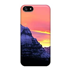 Durable Pastel Sky Over Glacier National Park Back Case/cover For iphone 4s