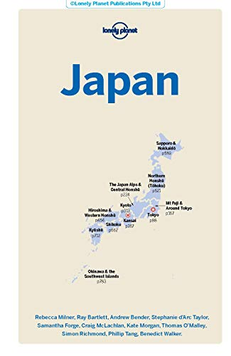 41pS5yNeOdL - Lonely Planet Japan (Travel Guide)