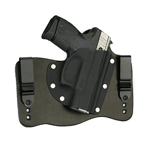 FoxX Holsters Taurus Millenium Pro PT111, PT140, PT145 In The Waistband Hybrid Holster Tuckable, Concealed Carry Gun Holster