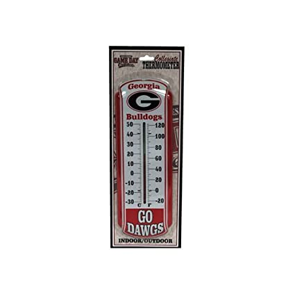 meet 3317d 24384 Image Unavailable. Image not available for. Color  Game Day Outfitters NCAA  Georgia Bulldogs Thermometer, One Size, Multicolor