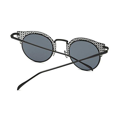 Aoligei Europe et lady rétro de l'United States Classic mode homme lunettes de soleil couple classique de la grande boîte en métal BBcgc