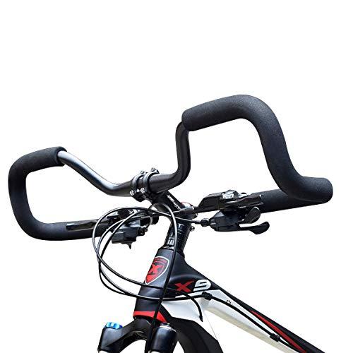 FidgetFidget Road Bike Cycling Contest Alloy Butterfly Bars - Touring Trekking - 31.8mm