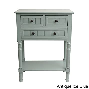 narrow console table over radiator white simplify drawer classic design tall antique iced
