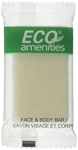 ECO AMENITIES Travel size 0.5oz hotel soap in bulk, White, G