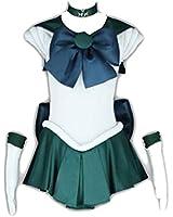 Sailor Moon Cosplay Costume -Sailor Neptun Kaiou Michiru 1st Fighting Kid Small