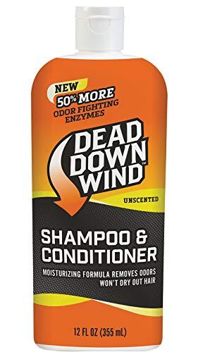 (Dead Down Wind Shampoo & Conditioner 12 oz Unscented Hunting Scent Eliminators)