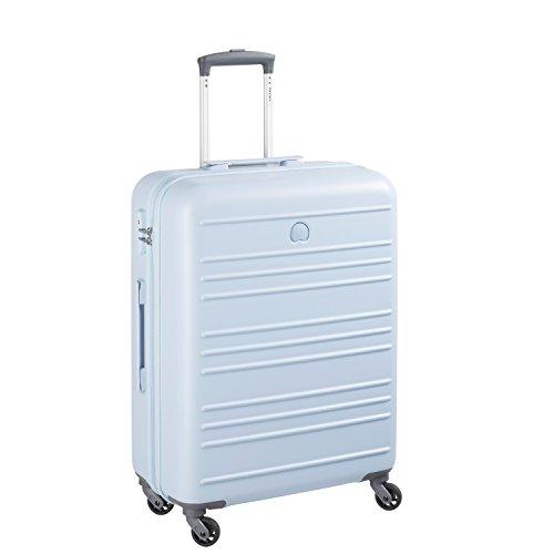 Delsey Carlit luggage Trolley cabin 4R Slim 55 light blue