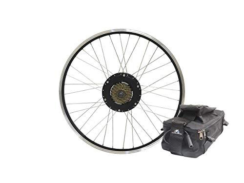 Aci Motor (Monoprice Electric Bike Technologies | 500-watt Rear Bike Motor Kit 700C/29er Rear Wheel Geared Motor w/ 36v9Ah Lead-Aci)