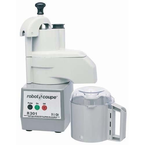 Robot Coupe R301 Commercial Standard Food Processor - 3-1/2 Qt. Plastic Bowl R301 Series