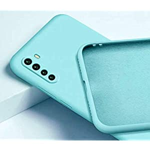 Mobistyle Soft Silicone Slim Matte Liquid Silicone Camera Protection TPU Shockproof Back Cover Case for Oneplus Nord…