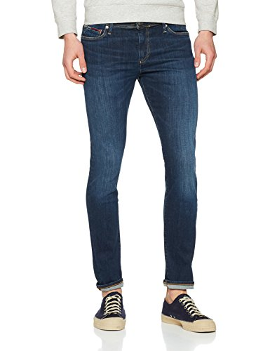 True Simon jeans Tommy Uomo 911 Stretch Skinny Dytdst Dark Blau dynamic qSPcC0