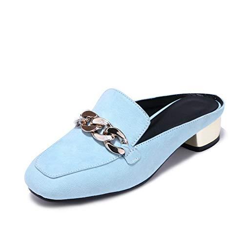 AdeeSu Womens Square Heels Chunky Sandals Heels Urethane Sandals Chunky SLC04417 Parent B07GL2HZQL e4b171