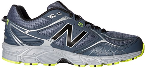 New Balance Mens 510v3 Trail Running Scarpa Grigio Scuro