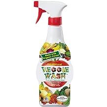Veggie Wash Natural Fruit & Vegetable Wash, 16-Ounce Spray