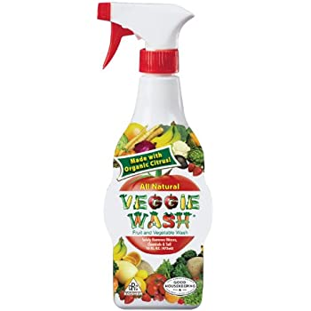 Veggie Wash Natural Fruit & Vegetable Wash, 16-Ounce Spray