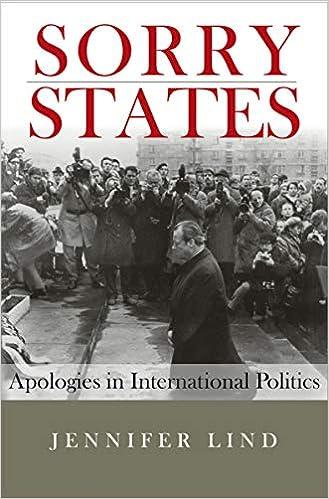 Amazon com: Sorry States: Apologies in International