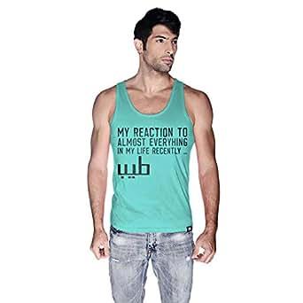 Creo Tank Top For Men - S, Green