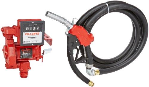 Fill-Rite FR711VA 115V AC High Flow Pump, 1'' Hi Flow Automatic Nozzle, 901 Meter by Fill-Rite (Image #1)