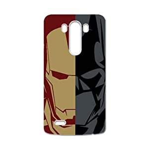 HRMB Iron Man and Batman Cell Phone Case for LG G3