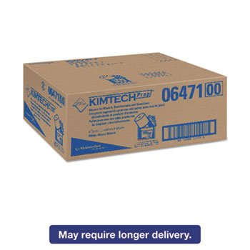 - Wipers For Bleach Disinfectants Sanitizers, 12 X 12 1/2, 90/roll