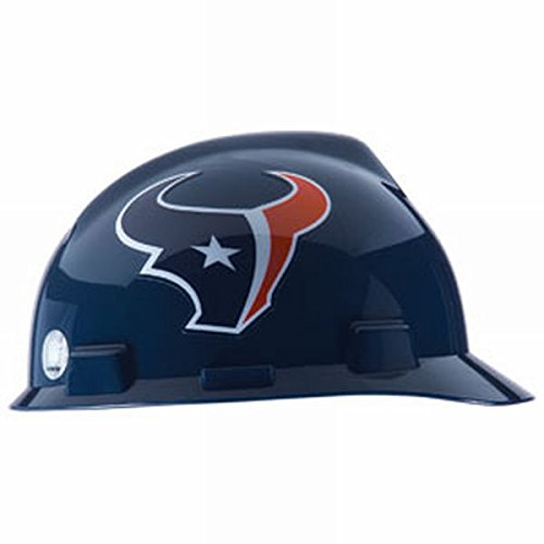 MSA Officially Licensed NFL V-Gard Caps, Houston Texans (7 Pack)