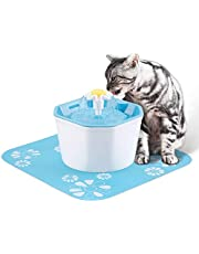 Lemonda Pet Water Fountain,Automatic Drinking Fountain for Pets Water Dispenser Filter Drinking Bowl