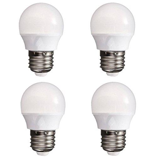 Kingso Pack of 4 E26 3W 8 LED Bulbs 25W Incandescent Bulb...