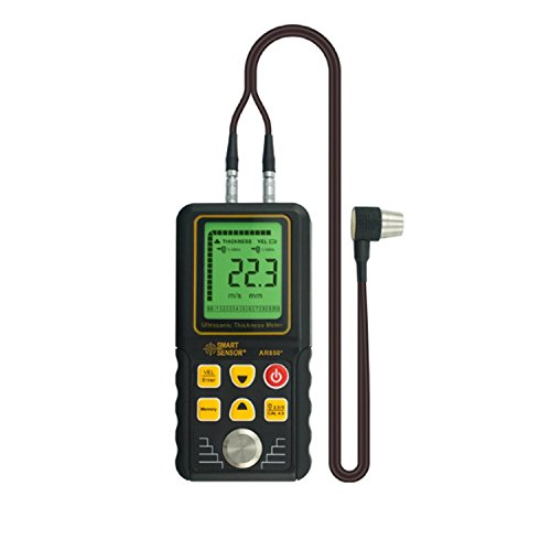 (Ultrasonic Thickness Gauge AR850 1.2-225mm Digital Wall Thickness Meter Precision Measuring)