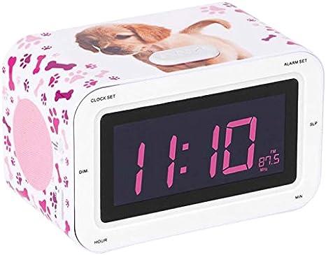 Bigben Interactive RR30DOGS2 Radio Despertador Infantil con ...