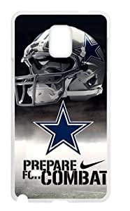 Hoomin Coolest Dallas Cowboys Design Samsung Galaxy Note4 Cell Phone Cases Cover Popular Gifts(Laster Technology)